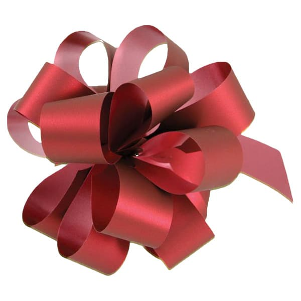 Red Pull Bows - Pack of 20