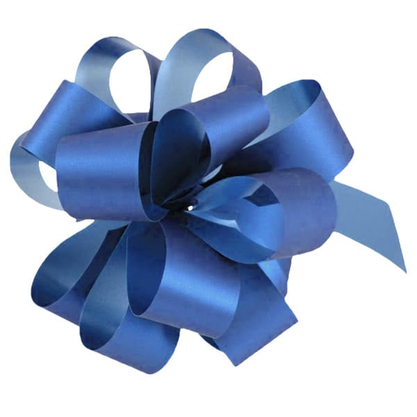 Royal Blue Pull Bows - Pack of 20 Product Image