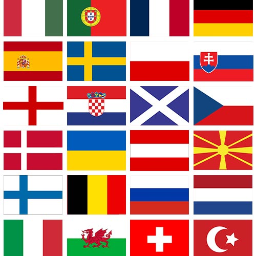 European Flags Bunting 8m Product Gallery Image