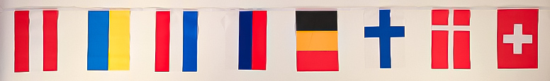 European Flags Bunting 8m Product Image
