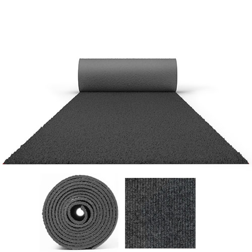 25 Metres Prestige Heavy Duty Anthracite Grey Carpet Runner 2 Metres Wide Product Image