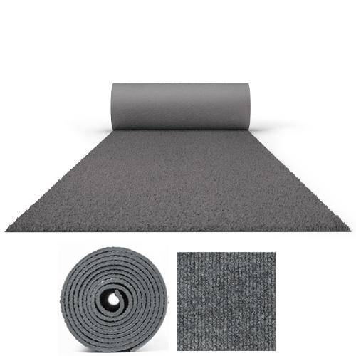 25 Metres Prestige Heavy Duty Grey Carpet Runner 2 Metres Wide Product Image