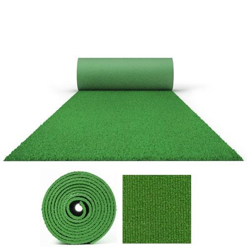 25 Metres Prestige Heavy Duty Spring Green Carpet Runner 2 Metres Wide Product Image