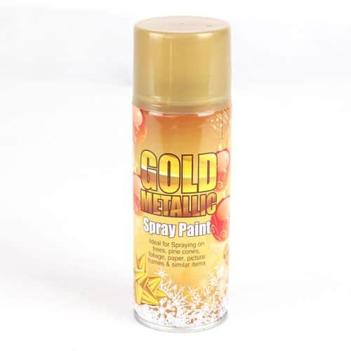 Golden Metallic Spray - 250ml Product Image