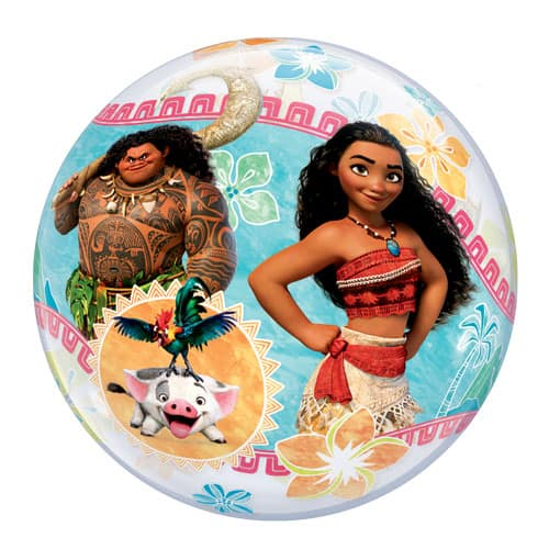 Disney Moana Bubble Helium Qualatex Balloon 56cm / 22 in Product Gallery Image