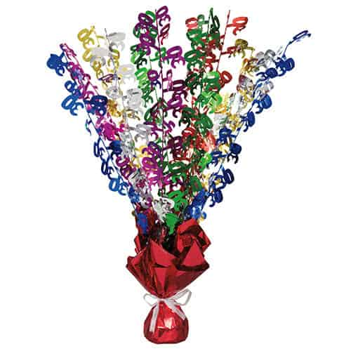 30th Birthday Balloon Weight Centrepiece Product Image