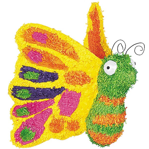 3D Butterfly Standard Pinata Product Image