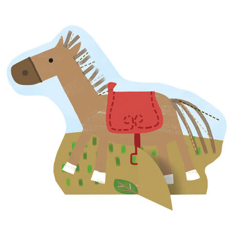 Farm Friends Party Centrepiece Decoration - Pack of 6 Product Gallery Image