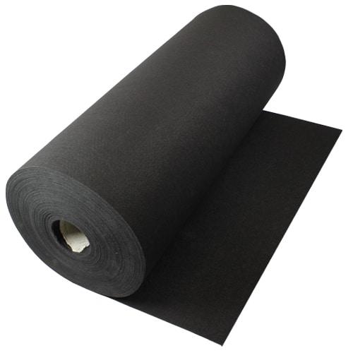 50 Metres Prestige Heavy Duty Black Carpet Runner
