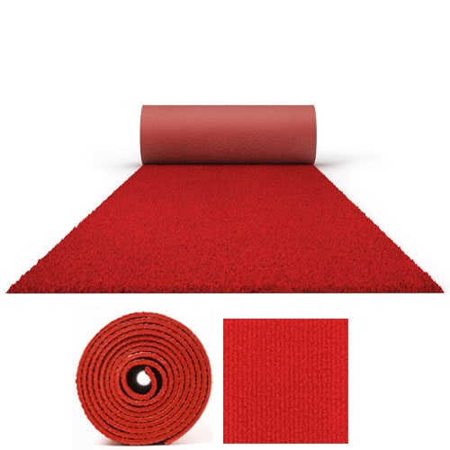 50 Metres Prestige Heavy Duty Red Carpet Runner 2 Metres Wide Product Image