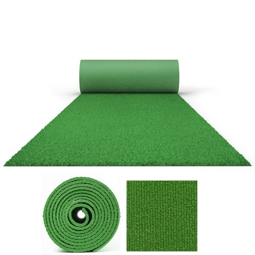 50 Metres Prestige Heavy Duty Spring Green Carpet Runner 2 Metres Wide Product Image