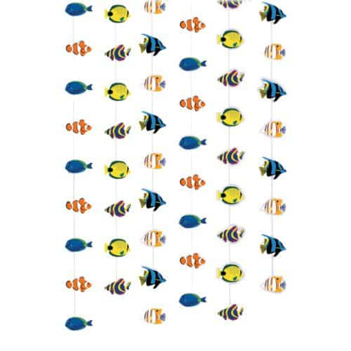 Tropical Fish Strings - 7 Ft / 213cm - Pack of 6 Product Image