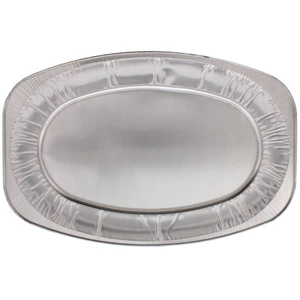 Large Oval Foil Platters - 21 Inches / 53cm - Pack of 60