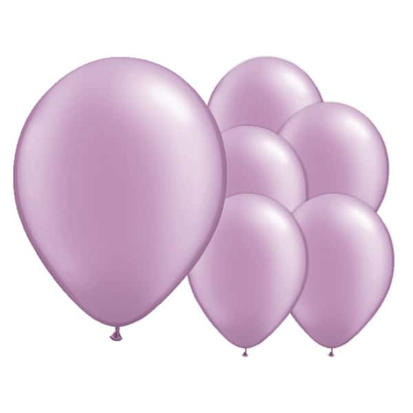 Lovely Lavender Biodegradable Latex Balloons - 12 Inches / 30cm - Pack of 8 Bundle Product Image