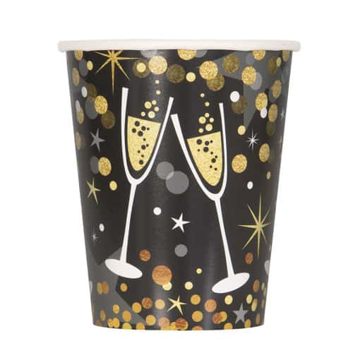Glittering New Year Paper Cup 270ml Bundle Product Image