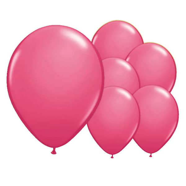 Misty Rose Biodegradable Latex Balloons - 12 Inches / 30cm - Pack of 8 Bundle Product Image