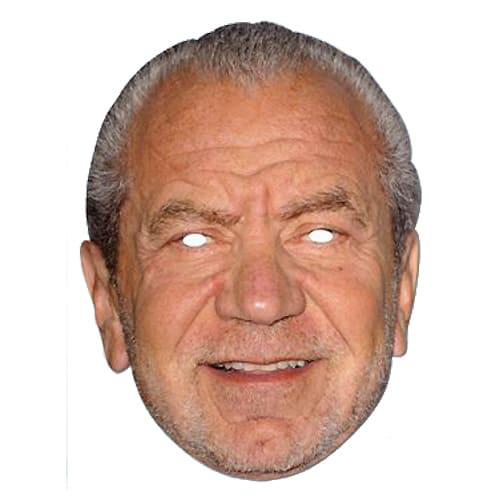 Alan Sugar Cardboard Face Mask