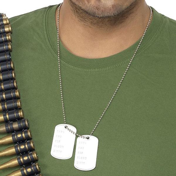 Aluminium Dog Tag Necklace Product Image