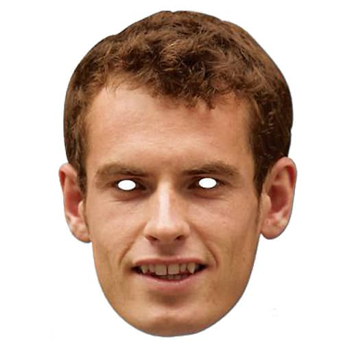 Andrew Murray Cardboard Face Mask Product Image