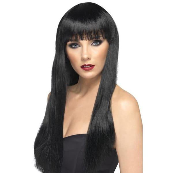 Black Cher Ladies Long Wig