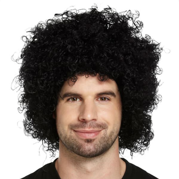 Funky Black Unisex Afro Wig