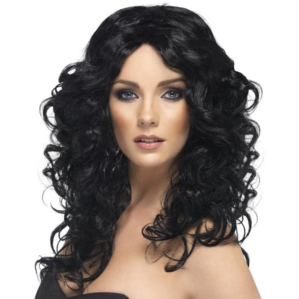 Black Glamour Ladies Long Wig
