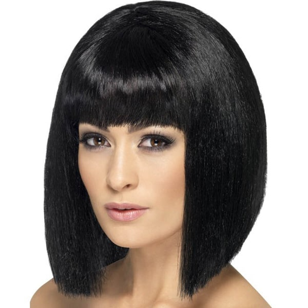 Black Lola Ladies Short Wig Product Image