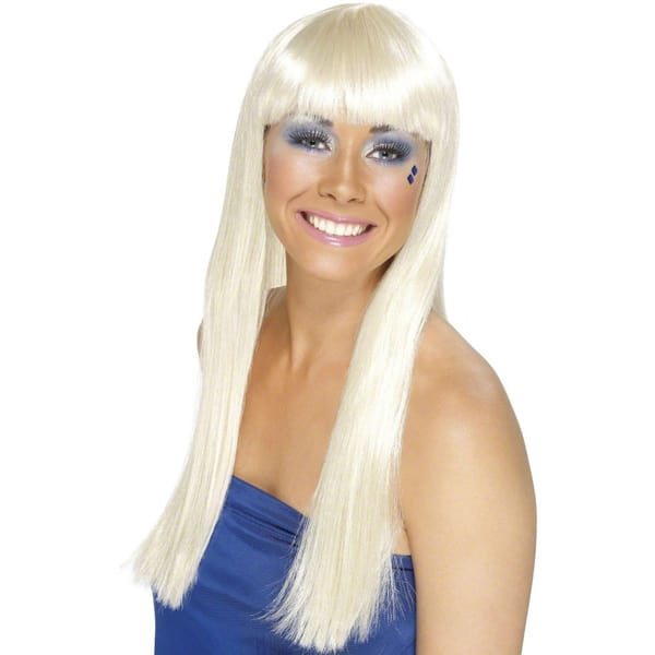 Blonde Abba Ladies Long Wig Product Image