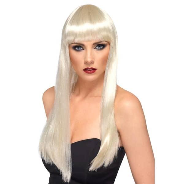 Blonde Cher Ladies Long Wig