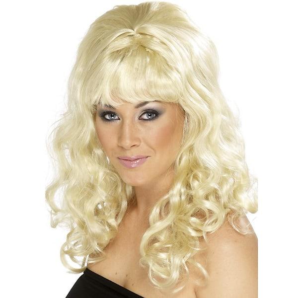 Blonde Cindy Ladies Long Wig