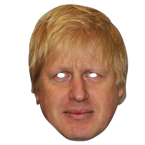 Boris Johnson Cardboard Face Mask Product Image