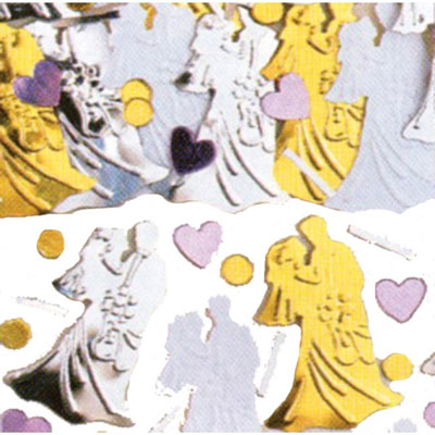 Bride and Groom Table Confetti - 14 Grams