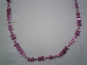 Bride to Be Necklace Product Image