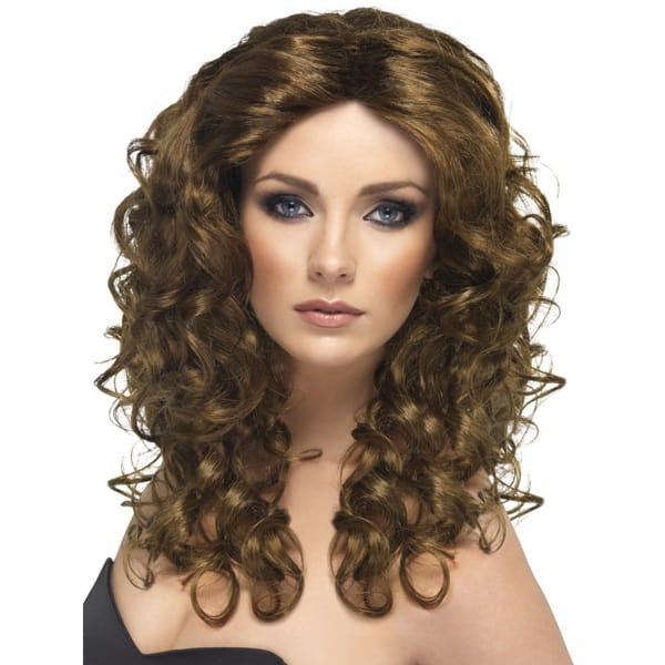 Brown Glamour Ladies Long Wig Product Image