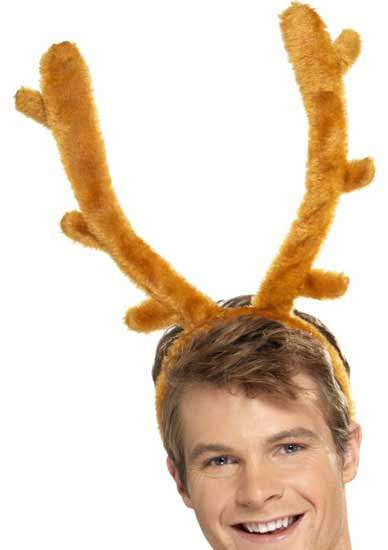 Brown Stag Night Horns Product Image