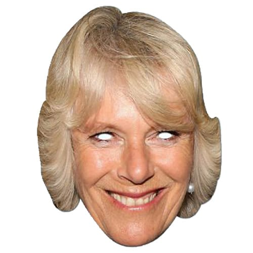 Camilla Parker Bowles Cardboard Face Mask Product Image