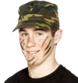 Camouflage Army Cap Product Image