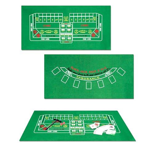 Casino Blackjack & Craps Set Product Image