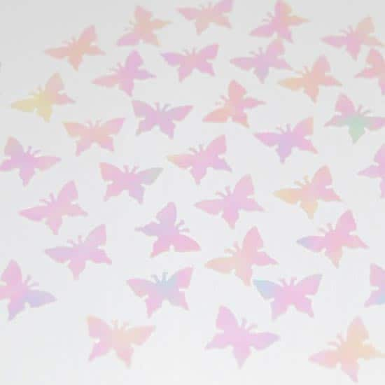 Clear Butterflies Table Confetti - 14 Grams Product Image