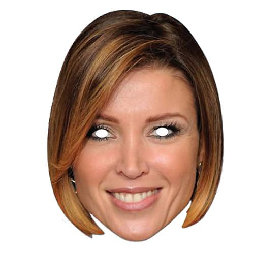 Danni Minogue Cardboard Face Mask