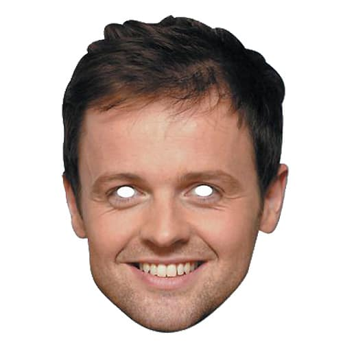 Declan Donnelly Cardboard Face Mask