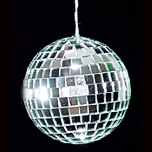 Deluxe Mirror Disco ball - 3 Inches / 8cm - Pack of 6