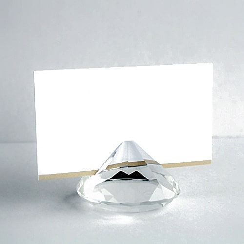 Diamond Weight Card Holder - 2 Inches / 50mm - Pack of 144 Product Image
