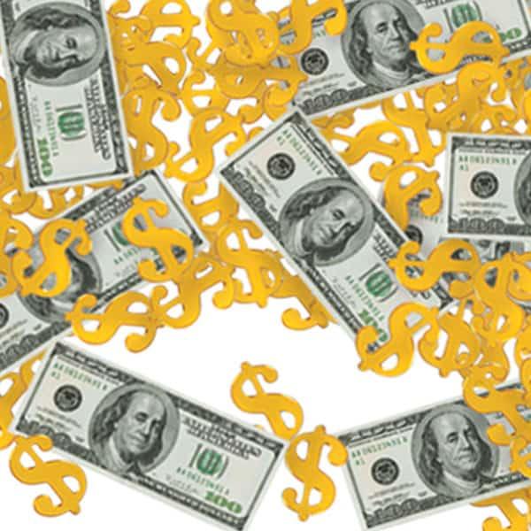 Dollar Big Buck Table Confetti - 14 Grams Product Image