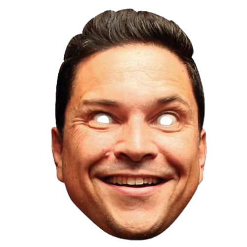 Dom Joly Cardboard Face Mask Product Image