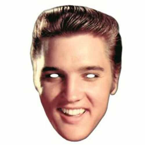 Elvis Presley Laughing Cardboard Face Mask