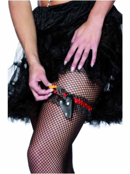 Garter with Small Gun in Holster Product Image