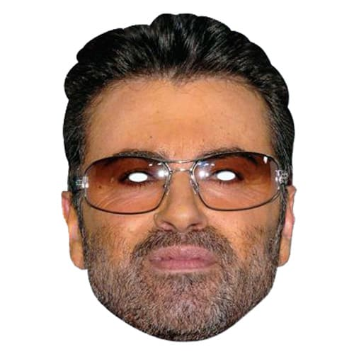 George Michael Cardboard Face Mask Product Image