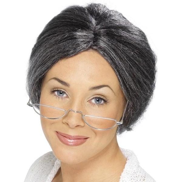 Grey Granny Ladies Short Wig Product Image
