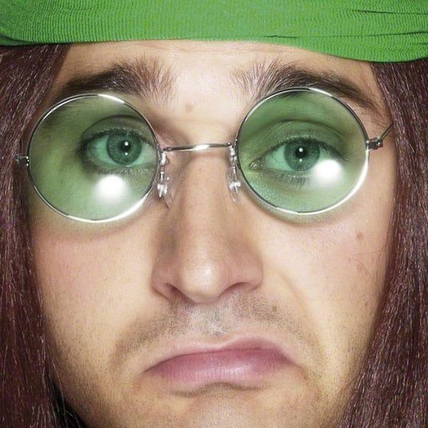 Hippy Fancy Dress Glasses Product Image